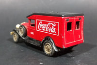 Lledo Coca-Cola Coke Soda Pop Beverage Packard Delivery Van Diecast Toy Car - Treasure Valley Antiques & Collectibles