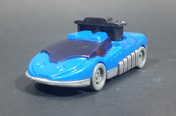 1994 McDonald's Hot Wheels 2-Cool Vehicle #13 Blue Radar Racer Diecast Toy Car - Treasure Valley Antiques & Collectibles