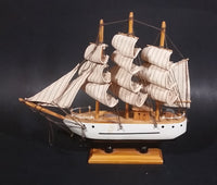 Vintage Collectible Costa Maya Wooden Model Sailing Ship - Treasure Valley Antiques & Collectibles