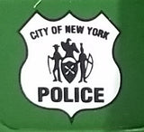 1993 Matchbox Green 1926 Ford TT New York City Police Department Van Die Cast Toy Car