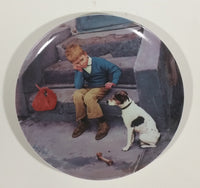 "Bing & Grondahl Kurt Ard 1984 ""Home is Best"" Limited Edition Collector Plate - Treasure Valley Antiques & Collectibles"