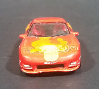 2002 Racing Champions Fast and Furious 1993 Mazda RX-7 Orange Julius Diecast Toy Car - Treasure Valley Antiques & Collectibles