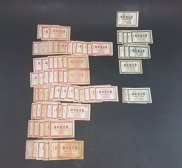 1960s and 1970s Collection Of 72 Nabob Products Paper Assorted Coupons Advertisements - Treasure Valley Antiques & Collectibles