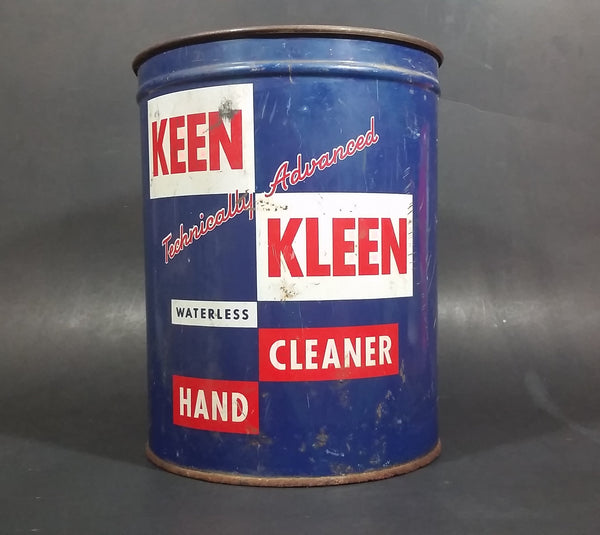 1960s Keen Kleen Technically Advance Waterless Hand Cleaner 88 Fl ozs - Southwest Petro-Chem, Inc.