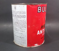 Vintage Bulldog Permanent Anti-Freeze Coolant Ethylene Glycol T. Eaton Co. Tin Can - Treasure Valley Antiques & Collectibles