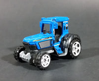 2006 Matchbox Mattel 703 Blue Farm Tractor Die Cast Toy - Treasure Valley Antiques & Collectibles