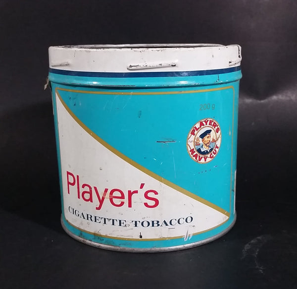 1980s John Player & Sons Player's Navy Cut Cigarette Tobacco 200g Tin Can - No Lid