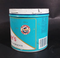 1980s John Player & Sons Player's Navy Cut Cigarette Tobacco 200g Tin Can - No Lid - Treasure Valley Antiques & Collectibles