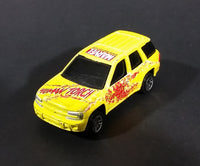 2002 Maisto Marvel Comics Universal Studios Human Torch Chevrolet Trailblazer Diecast Toy Car - Treasure Valley Antiques & Collectibles