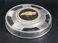 "Vintage 1973-87 Chevrolet Blazer 4 x 4 Yellow and Black 10 5/8"" Hub Cap Garage Decor - Treasure Valley Antiques & Collectibles"