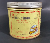 1940s 1950s Carreras Sportsman Extra Mild Cigarette Tobacco Tin - Empty - Treasure Valley Antiques & Collectibles