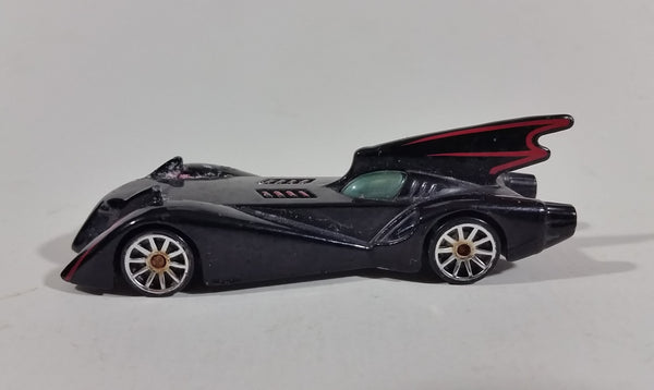 Hot Wheels Batmobile Batman Super Hero The Brave and Bold Black Die Cast Toy Car - Treasure Valley Antiques & Collectibles
