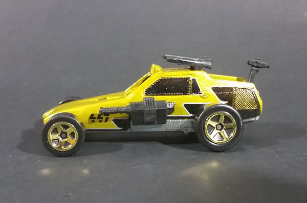 1982 Hot Wheels Yellow w/ Gold Rims 447 Assault Vehicle Toy Car - Treasure Valley Antiques & Collectibles