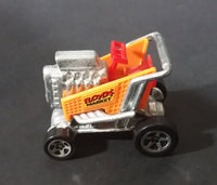 1999 Hot Wheels Express Lane Floyd's Market Orange Grocery Shopping Cart Die Cast Toy Car Vehicle - Treasure Valley Antiques & Collectibles