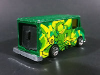 2009 Hot Wheels Graffiti Rides Green Letter Getter 1986 Mail Delivery Van Die Cast Toy - Treasure Valley Antiques & Collectibles