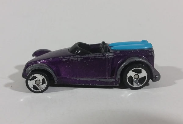 1999 Hot Wheels McDonald's Surf Boarder Chrysler Prowler Purple Die Cast Toy Car - Treasure Valley Antiques & Collectibles