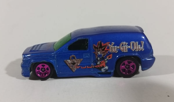 2002 Hot Wheels Yu-Gi-Oh! Series #3 Dark Blue w/ Purple 5SP Fandango Die Cast Toy Car - Treasure Valley Antiques & Collectibles