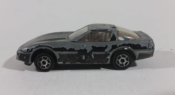 Majorette Sonic Flashers Black Chevrolet Corvette #7 Die Cast Toy Car - Treasure Valley Antiques & Collectibles