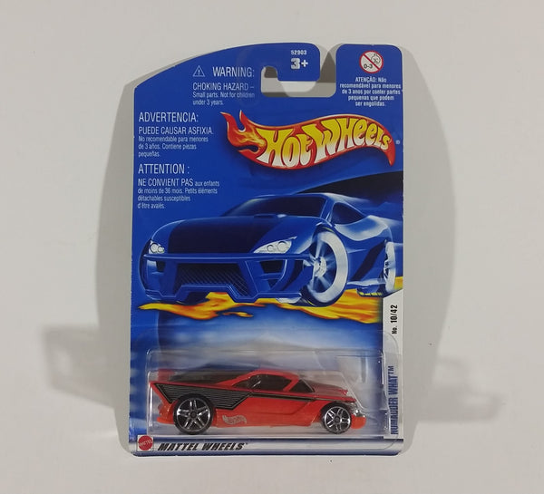 2002 Hot Wheels Orange Nomadder What Die Cast Toy Car #022 10/42 New w/ Blue Card - Treasure Valley Antiques & Collectibles