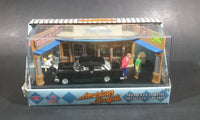 2008 Motor Max American Graffiti Black 1955 Chevy Bel Air Diorama Scene Die Cast Toy Car - Treasure Valley Antiques & Collectibles