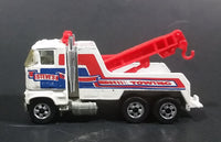1983 Hot Wheels Rig Wrecker Steve's Towing Tow Truck Die Cast Toy Car Vehicle