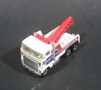 1983 Hot Wheels Steve's Towing Mainline 1981 Rig Wrecker Tow Truck Die Cast Toy Car - Treasure Valley Antiques & Collectibles