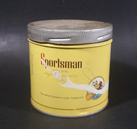 1960s Sportsman Extra Mild Cigarette Tobacco Tin w/ Imperial Lid - Treasure Valley Antiques & Collectibles