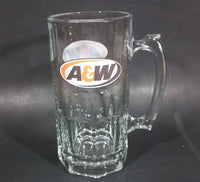 "Modern A & W Allen and Wright Since 1956 Clear 8"" Tall Root Beer Mug - Treasure Valley Antiques & Collectibles"
