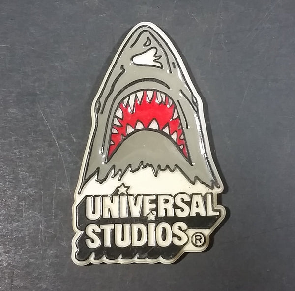 1975 Jaws Movie Film Universal Studios Shark Shaped Fridge Magnet Collectible - Treasure Valley Antiques & Collectibles