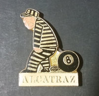 Vintage Alcatraz Prison Inmate Prisoner (Eight) 8 Ball and Chain Souvenir Fridge Magnet - Treasure Valley Antiques & Collectibles