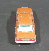 1980s Yatming Brown Bronze Mercedes 450 SL w/ Opening Doors Diecast Toy Car No. 1061 - Treasure Valley Antiques & Collectibles