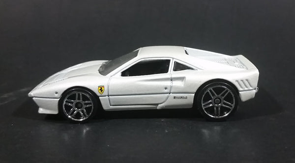 2011 Hot Wheels 1984-87 Ferrari 288 GTO Pearl White Die Cast Toy Car - Treasure Valley Antiques & Collectibles
