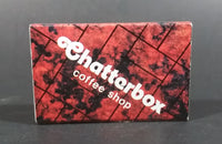 1980s Chatterbox Coffee Shop Grand Hotel Hong Kong Souvenir Matches Box Pack - Treasure Valley Antiques & Collectibles