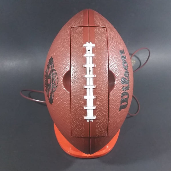 Vintage 1984 Wilson Super Bowl XIX Brown Football Shaped Phone - Working - Treasure Valley Antiques & Collectibles
