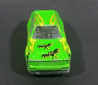 1980s Zee Toys Dyna Wheels Audi Quattro Green Bat Car No. D87 Die Cast Toy Vehicle - Treasure Valley Antiques & Collectibles