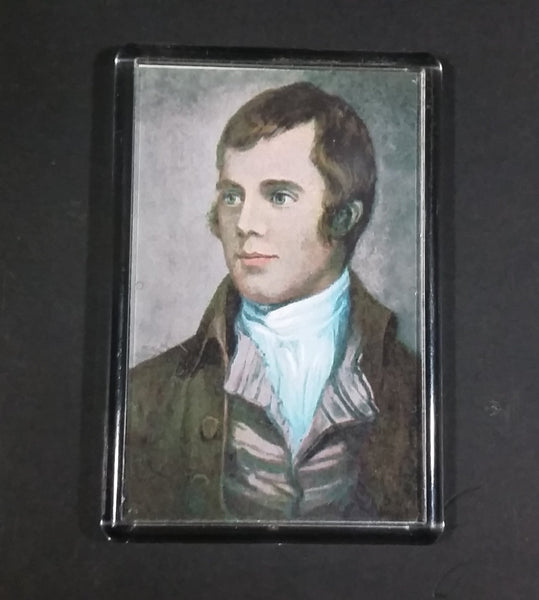 Robert Burns Tam O'Shanter Experience Ayr, Scotland Portrait Fridge Magnet - Treasure Valley Antiques & Collectibles