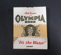 "Vintage Oly Olympia Beer Pale Export Type ""It's The Water"" Promotional Match Pack - Full - Treasure Valley Antiques & Collectibles"