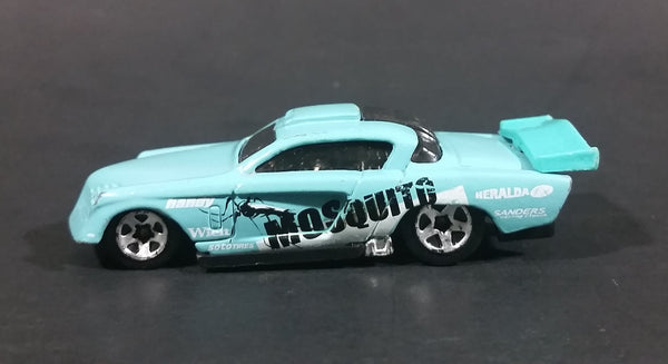 2002 Hot Wheels At-A-Tude Mosquito Light Blue No. 237 Die Cast Toy Race Car - Treasure Valley Antiques & Collectibles