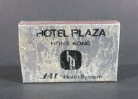 Hotel Plaza Hong Kong JAL Japan Airline Hotel System Matches Box Pack Empty - Treasure Valley Antiques & Collectibles