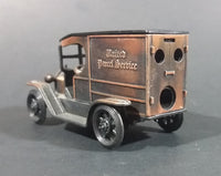 United Parcel Service Truck Antique Finish Die-Cast Miniature Pencil Sharpener No. 1914 - Treasure Valley Antiques & Collectibles