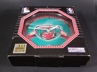 Vancouver Grizzlies Inaugural Season 1995-96 NBA Team Collectors Clock - In Box - Working - Treasure Valley Antiques & Collectibles