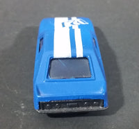Marz Karz 1980s Ford Mustang 127 Blue with White Stripe Die Cast Toy Car Vehicle - Treasure Valley Antiques & Collectibles