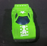 1980s Marz Karz Green Star Special Lancia Stratos Turbo Group 927F Die Cast Toy Race Car