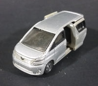 Tomica Tomy 2009 Toyota Vellfire Grey Mini Van 1/59 #49 Die Cast Toy Car Vehicle - Sliding Doors - Treasure Valley Antiques & Collectibles