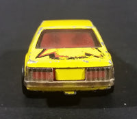 1980 Hot Wheels 1979 Ford Mustang Yellow Die Cast Toy Car - Treasure Valley Antiques & Collectibles