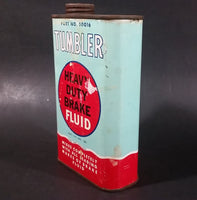 Vintage Tumbler Heavy Duty Break Fluid Part No. 50016 Automotive Vehicle Metal Can w/ Lid - 16 Fl. oz. - Empty - Treasure Valley Antiques & Collectibles