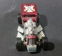 2000 Hot Wheels Way 2 Fast Dark Metal Red Die Cast Toy Car Hot Rod Vehicle - Treasure Valley Antiques & Collectibles