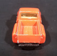 1980s Yatming Chevrolet LUV Stepside Pickup Truck Orange No. 1700 Die Cast Toy Car Vehicle - Treasure Valley Antiques & Collectibles