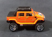2008 Hot Wheels Hummer H2 SUT Orange 15/40 Die Cast Toy Truck SUV Car Vehicle - Treasure Valley Antiques & Collectibles