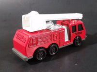 1992 Tonka Red Fire Ladder and Hook Truck DieCast Toy Vehicle - McDonald's Happy Meal